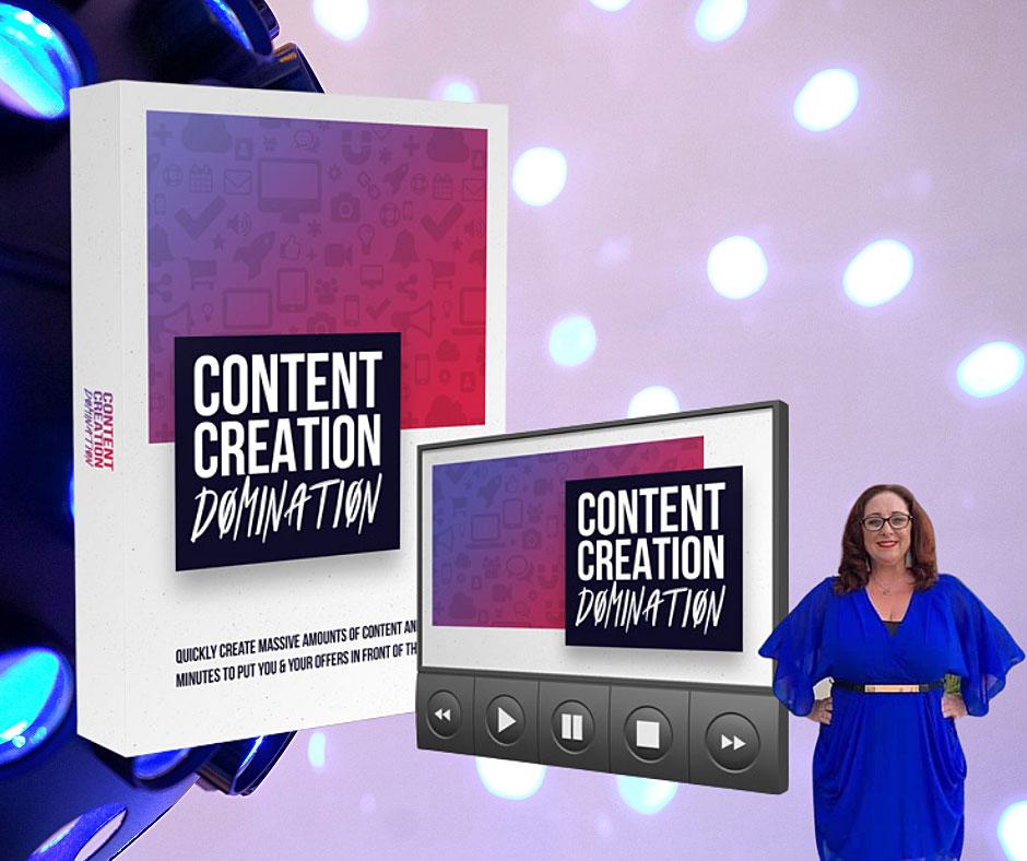 Content Creation Domination Course
