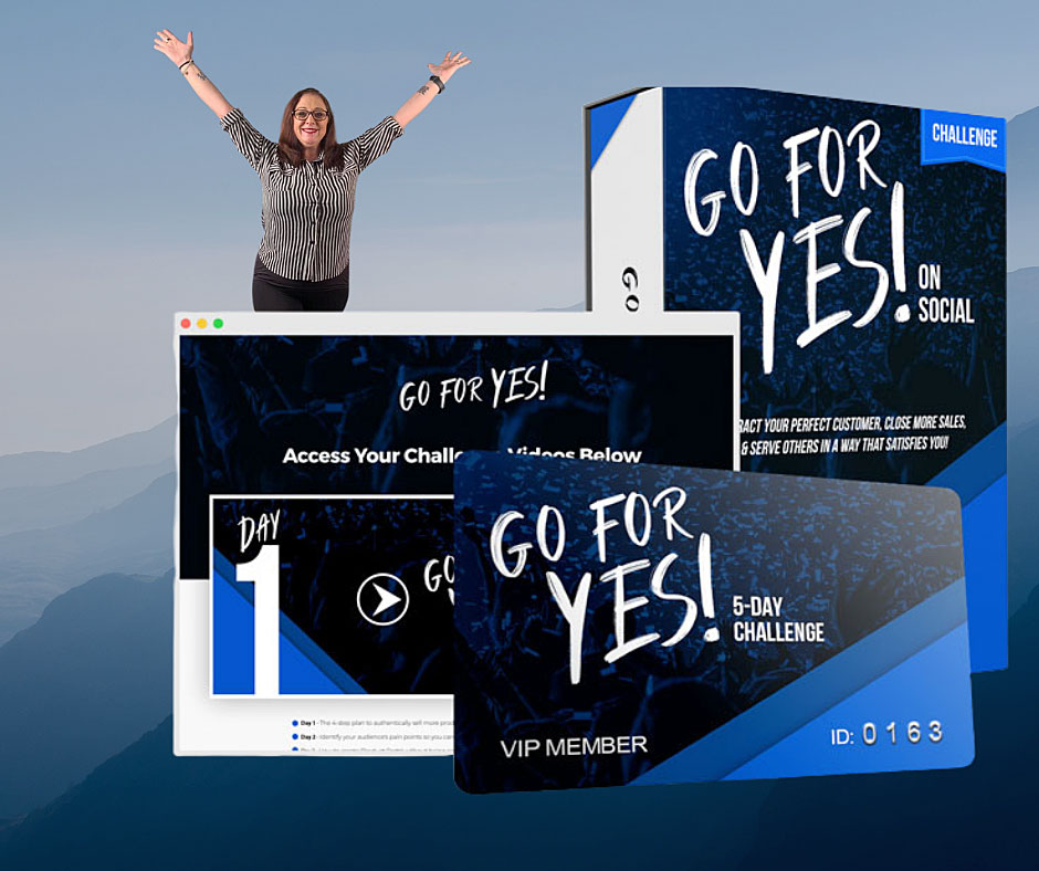 Go For Yes - 5 Day Challenge Course