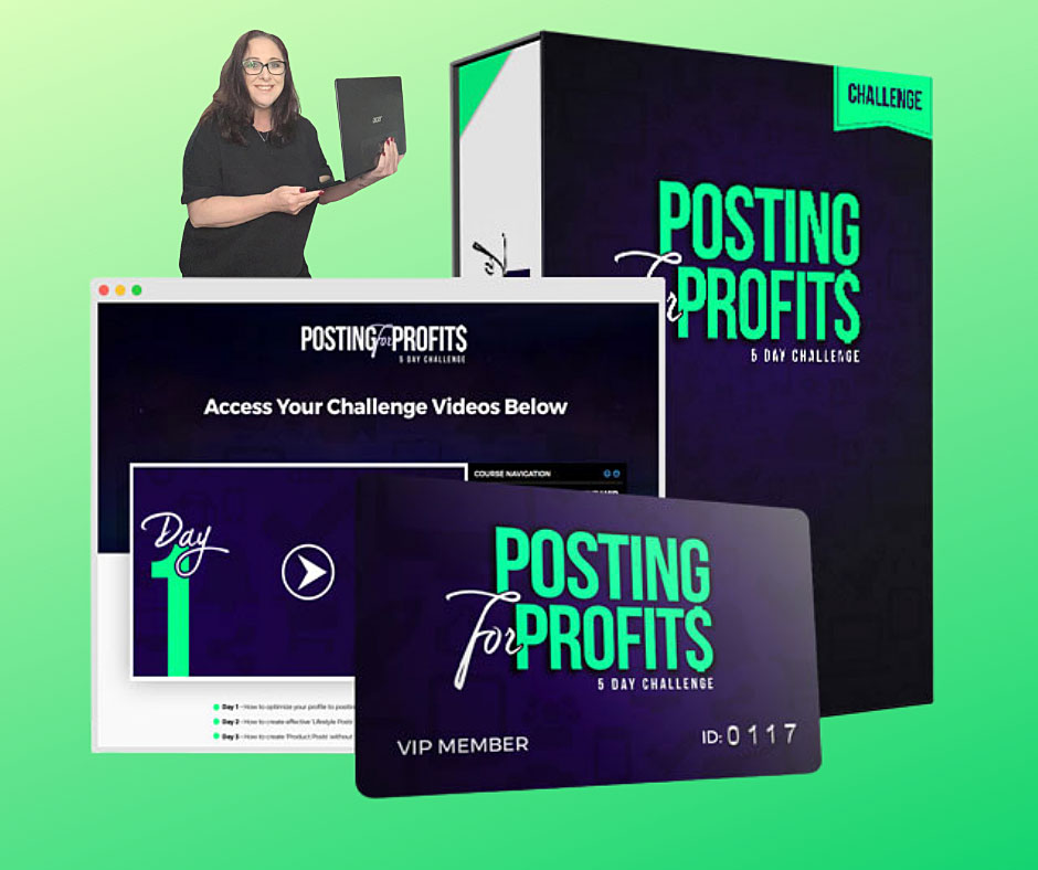 Posting For Profits - 5 Day Challenge Course