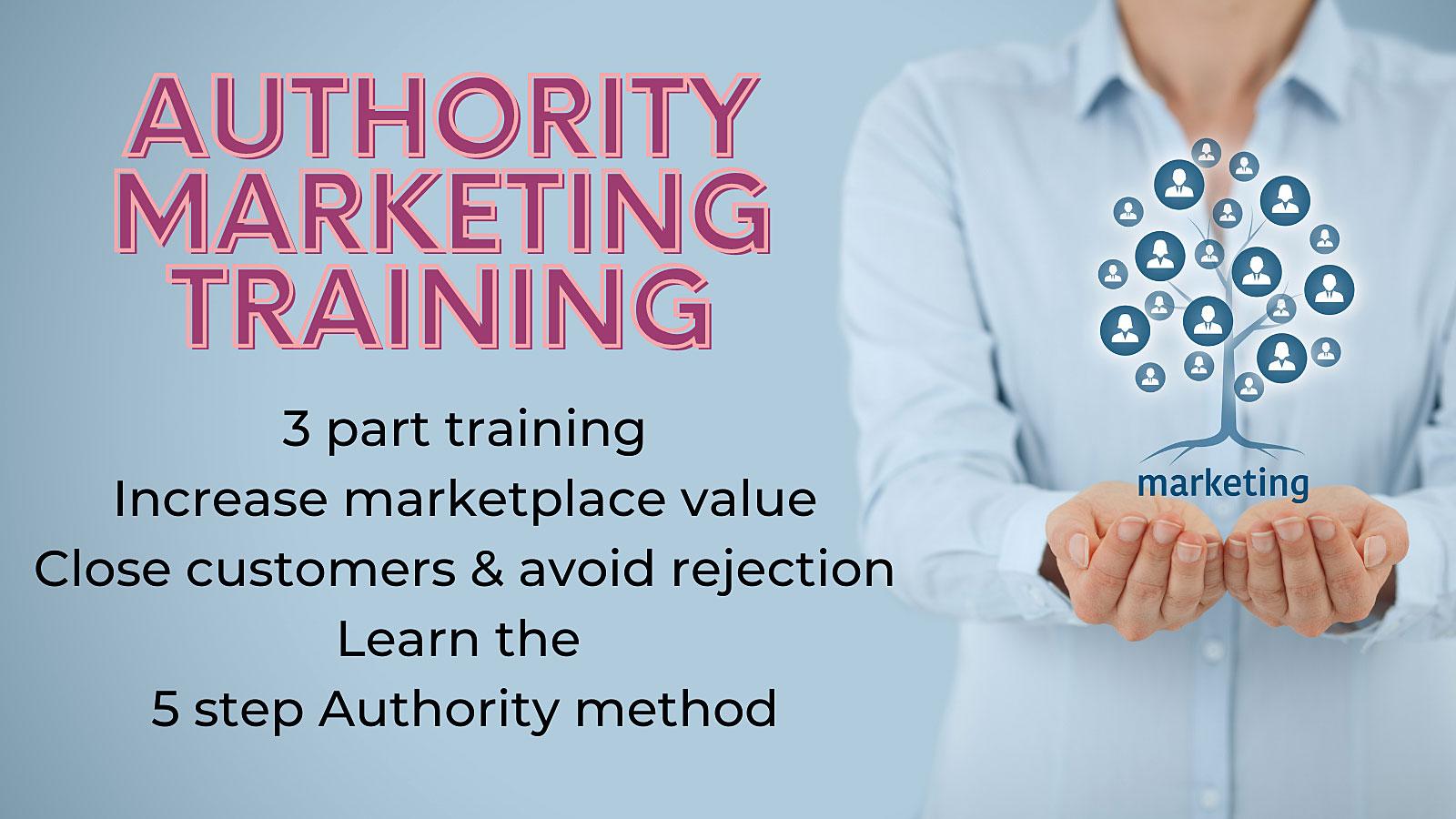 Authority Marketing Training